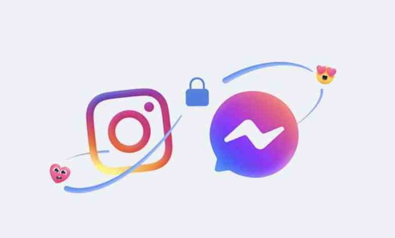 messenger et instagram