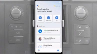Le Driving Mode de Google presente en