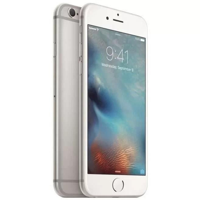 iPhone 6S Silver Reconditionné A++ 64 Go + Coque offerte