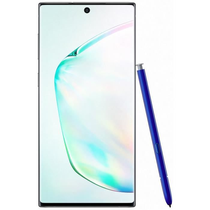 Samsung Galaxy Note 10 256 go Argent - Double sim