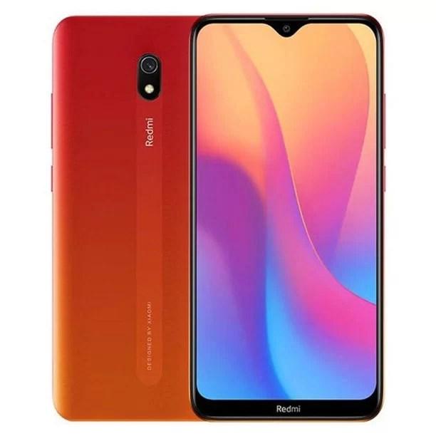 "Xiaomi Redmi 8A (32GB, 2GB RAM) 6.22"" HD Display, Snapdragon 439, 5000mAh Battery, Dual SIM GSM Unlocked - US & Global 4G LTE International Version (Sunset Red, 32 GB)"