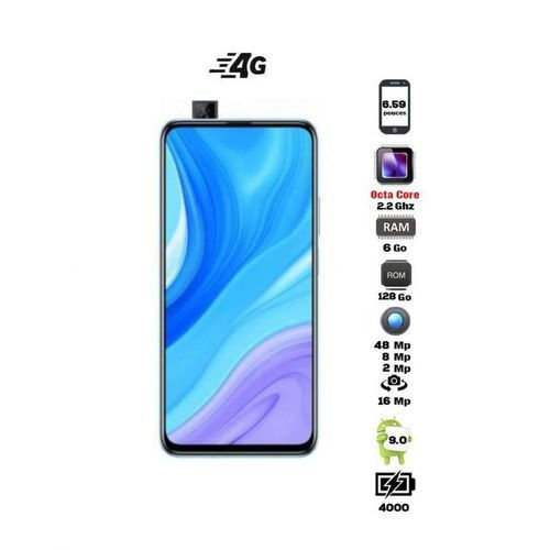 "Y9s 6.59"" 4G (6Go,128Go) Android 9 48MP+8MP+2MP/16MP - Breathing Crystal"