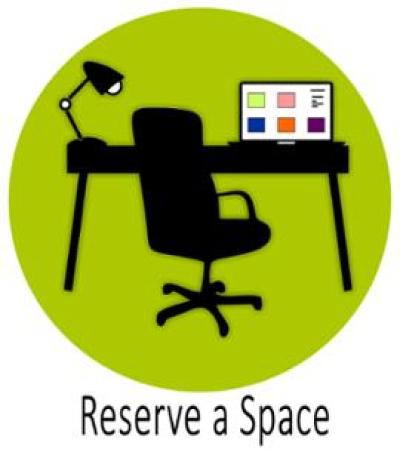Reserve a Space icon in green