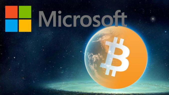 Microsoft Supports Bitcoins