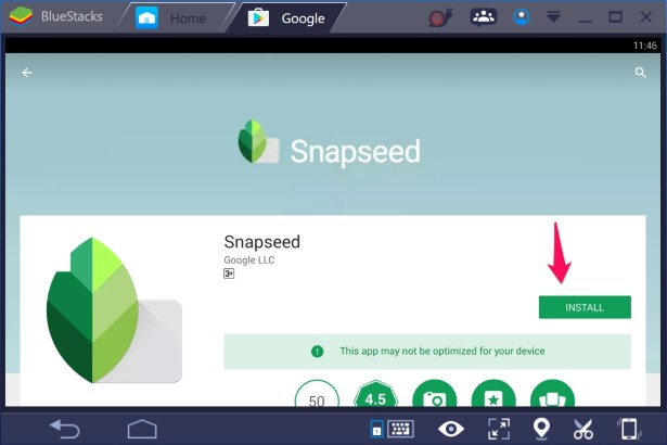 Snapseed for PC Windows 10