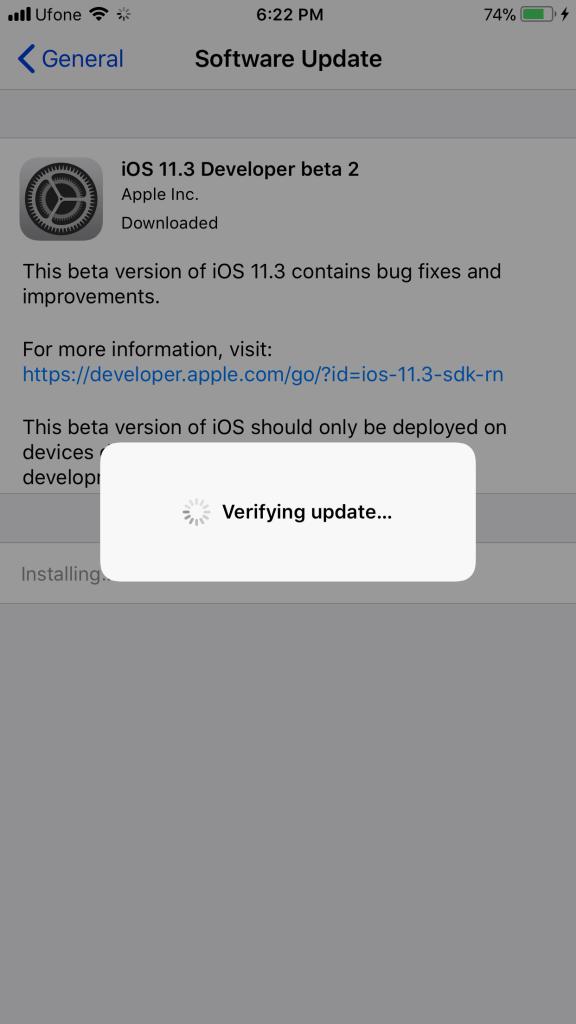 iOS 11.3 Beta 2 ipsw Direct Download link