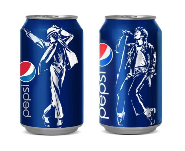 Pepsi Can Michael Jackson