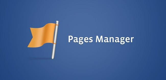 Facebook page, Page manager, Android