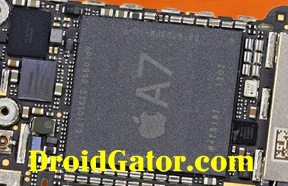 iPhone 5S processor, iPhone 5S chip