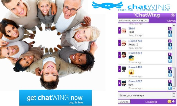 Chatwing, Chatwing messenger, Chatwing app, Chat Wing