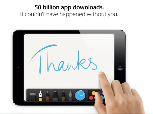 50 billion apps, 50 billion apps download, apple 50 billion apps download , 50 billion app winners