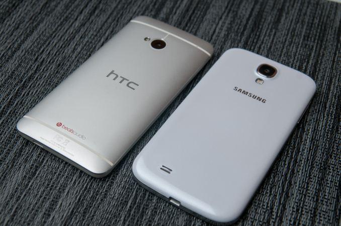 HTC One Google edition, Samsung Galaxy S4 google edition
