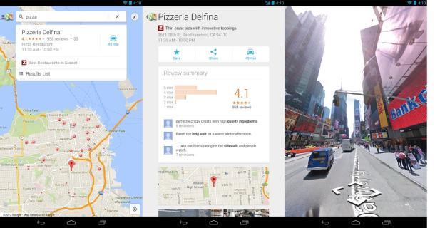 Google map 7, Gmaps 7.0, Google maps 7.0