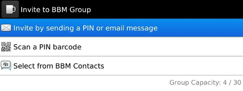 BBM Contact Groups