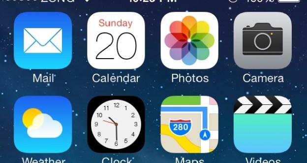 iOS7 battery Percentage, Display iOS 7 Battery Percentage