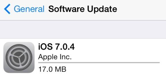 iOS7.0.4