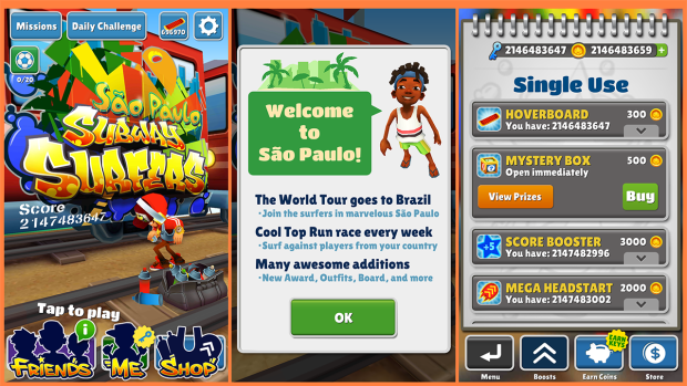 Subway Surfers Sao Paulo Modded Apk