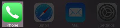 Phone-App-in-iPhone