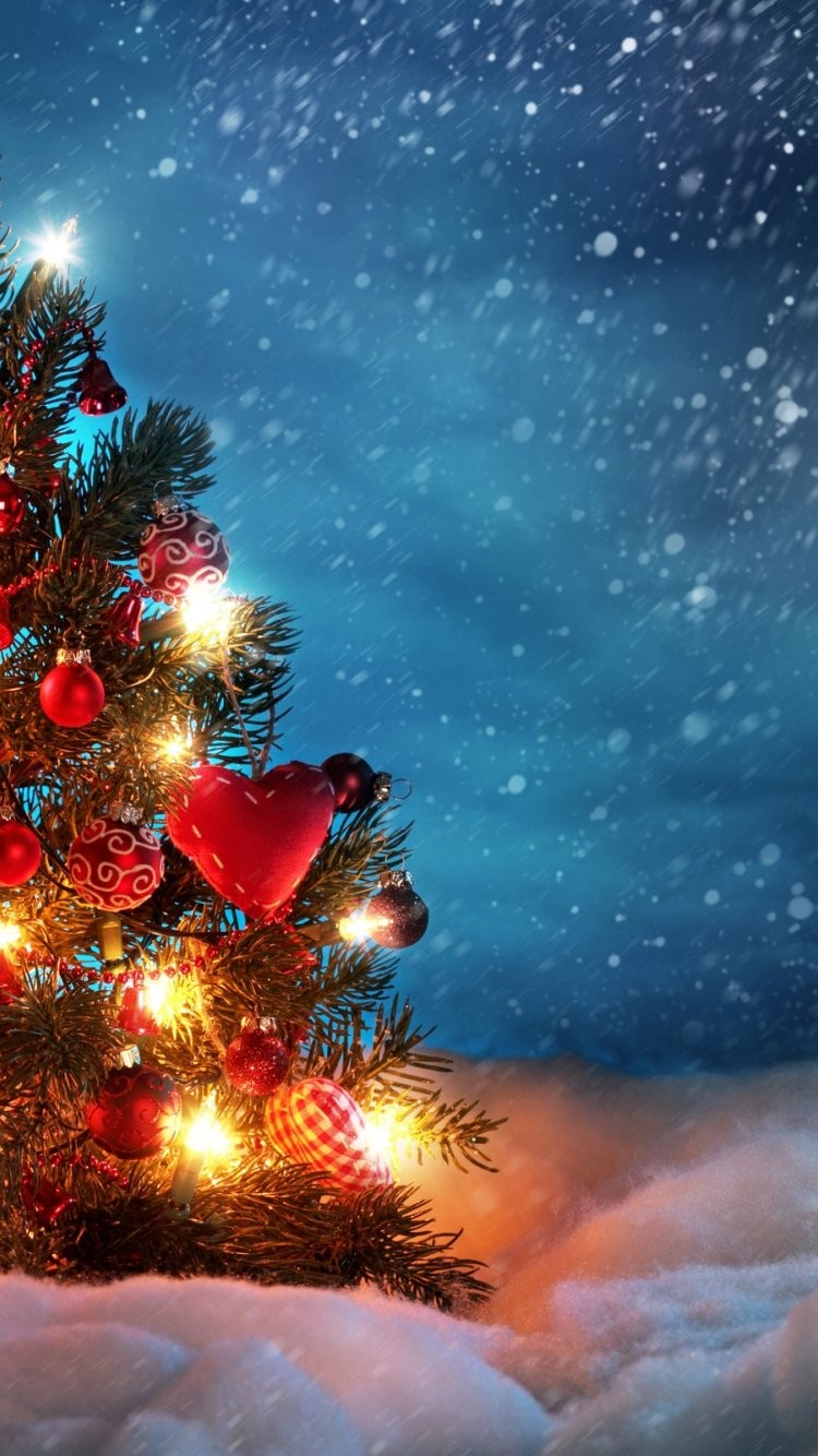 christmas tree iphone 6 wallpaper 22856 – holidays iphone 6 wallpapers-f27079