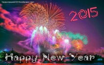 happy new year 2015 fireworks wallpaper