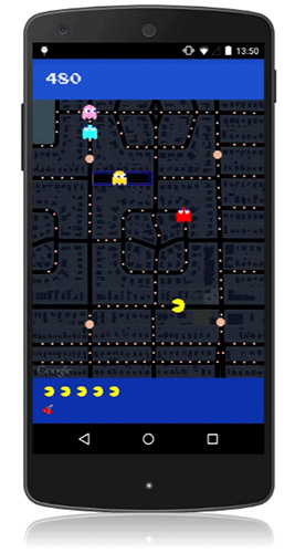 Now you can play PAC-MAN on Google Maps