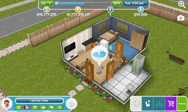 The Sims FreePlay mod apk hack