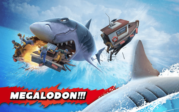 Hungry Shark Evolution v 4 6 0 Mod Apk with unlimited coins and gems