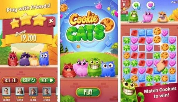 Cookie Cats 1 0 2 Mod Apk With free lives and Coins  | AxeeTech