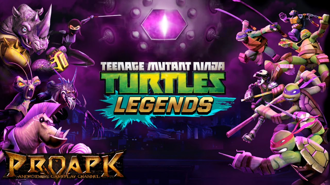 Ninja Turtles: Legends v 1 9 13 Mod Apk with infinite cash and coins