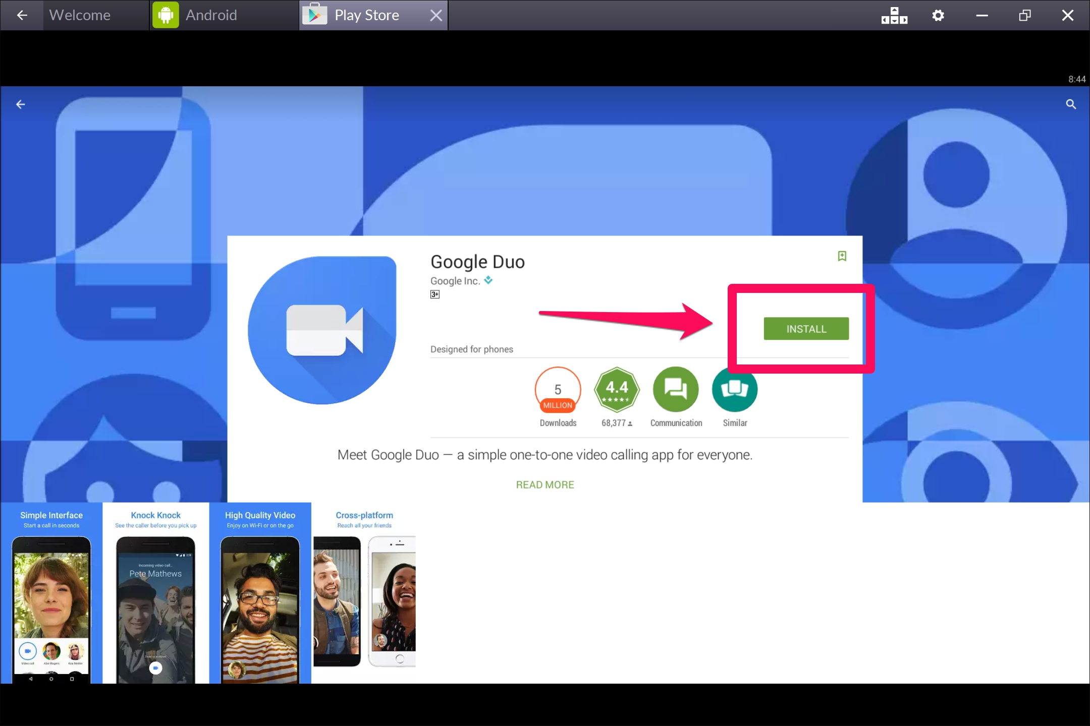 Google-DUO-Windows-10