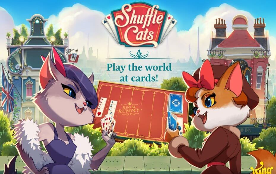 Shuffle Cats v 0 21 48 mod apk with unlimited cards, moves