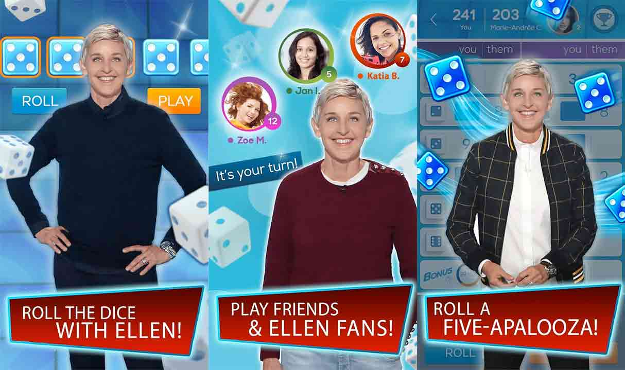 Dice with Ellen Mod apk v 5 0 7 with unlimited points, coins