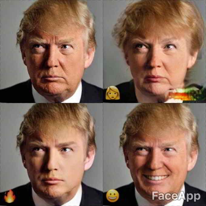 FaceApp-President-Donal-trumph