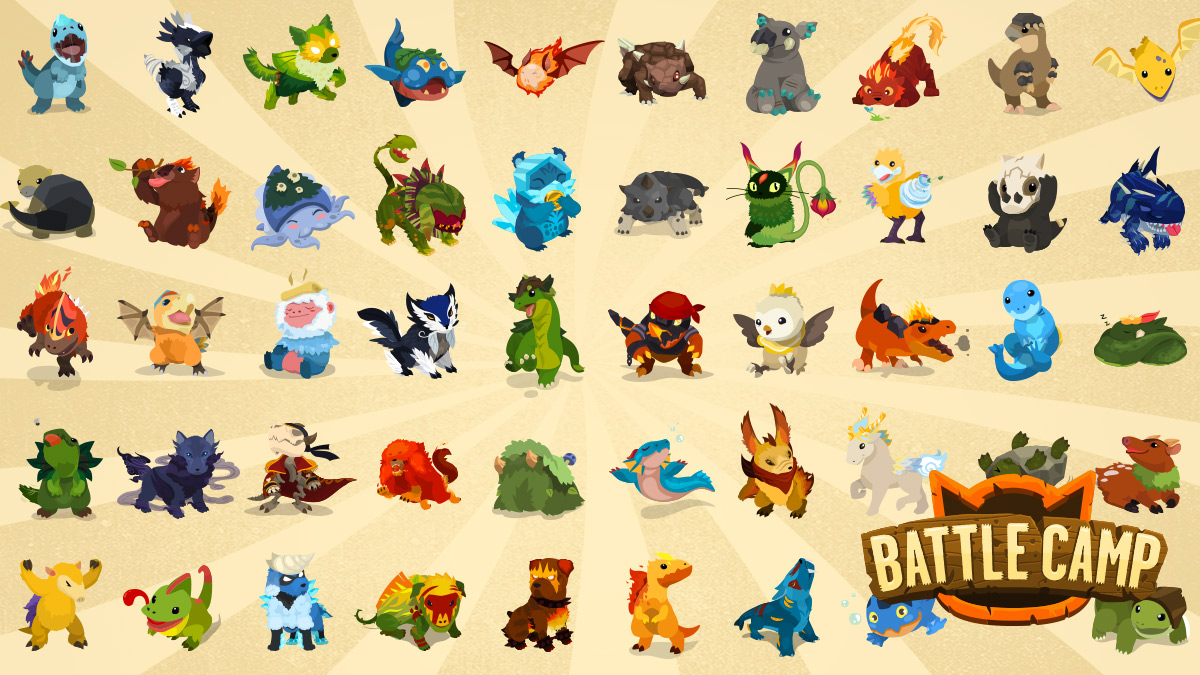Battle-Camp-Monster-Catching-mod-apk-hack