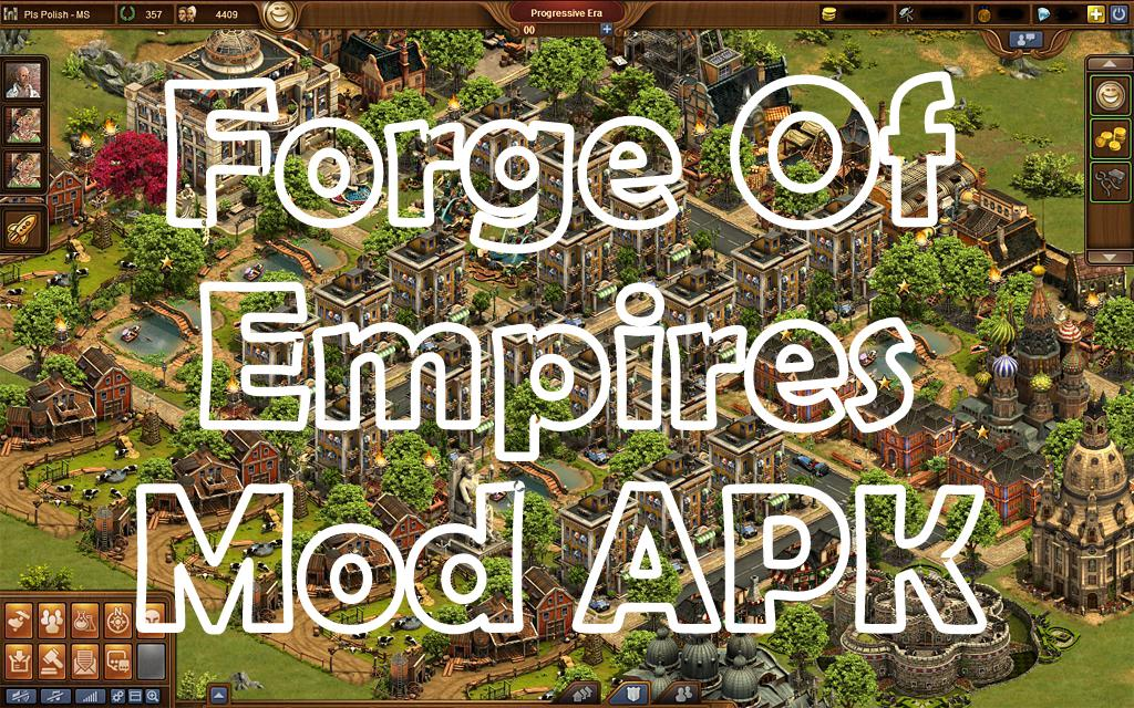 Forge of Empires v1 104 1 mod apk with unlimited money, coins, gems