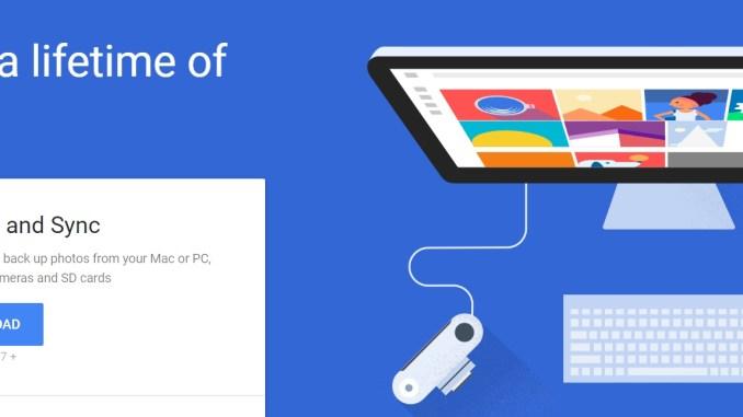 Download Google Backup and Sync desktop client