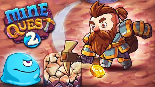 Mine Quest 2 - Mining RPG v2.0 Mod Apk
