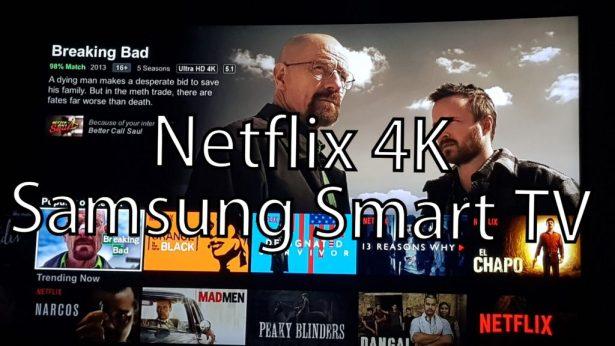 force Samsung Smart TV to show 4K Netflix content