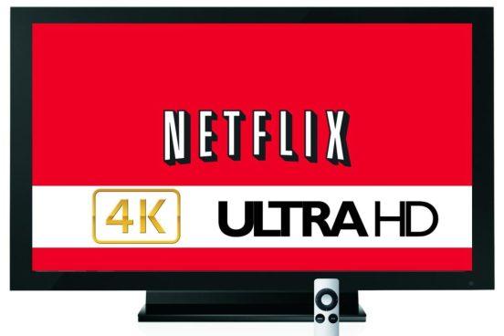 List of 4k Netflix UHD Content