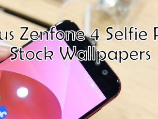 ASUS ZenFone 4 Selfie Pro Stock Wallpapers