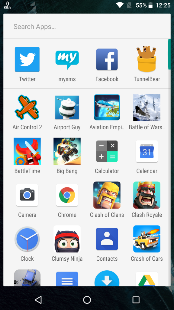 Android 8.0 Oreo Launcher Apk