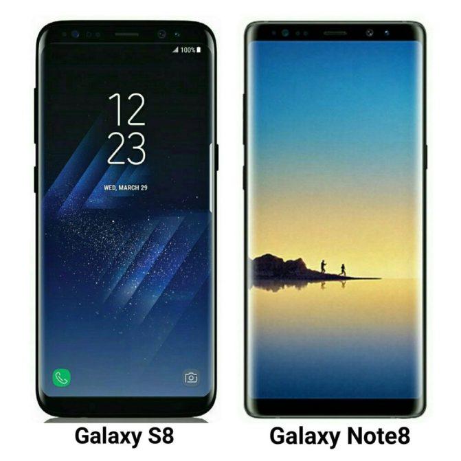 Samsung Galaxy Note 8 Press Renders leaked