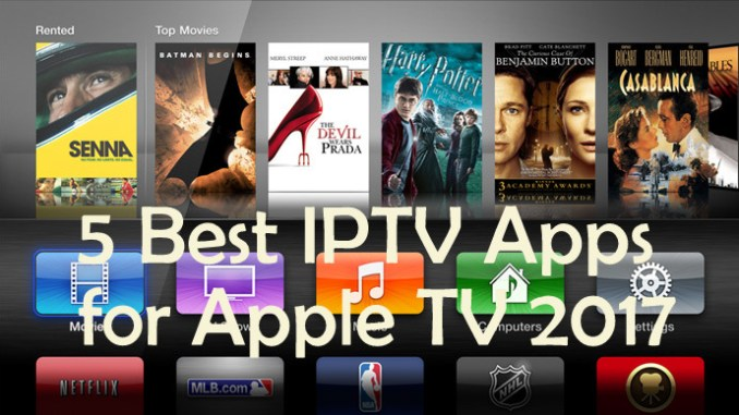 Best IPTV Apps for Apple TV 2017