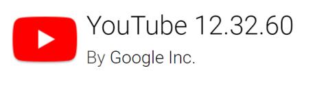 Youtube 12.32.60 Apk