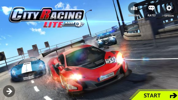 City racing Lite Mod Apk Hack