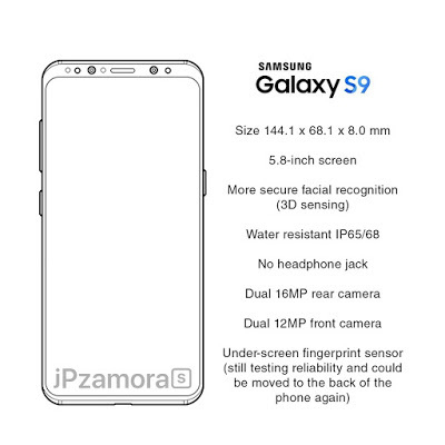 Samsung Galaxy S9 Specs Features Rumors and Updates