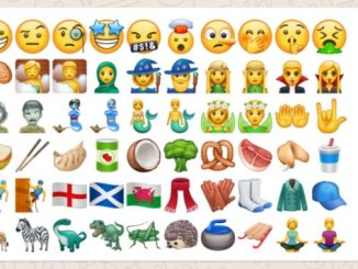 WhatsApp beta new emoji