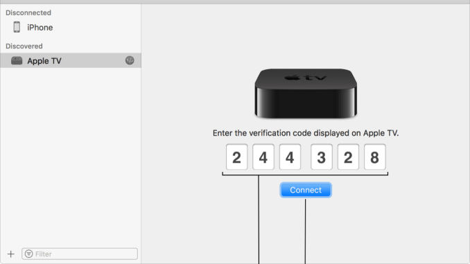 Connect Apple 4K to Xcode for Mac