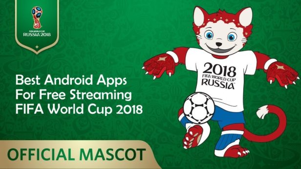 FIFA 2018 Worldcup streaming apps