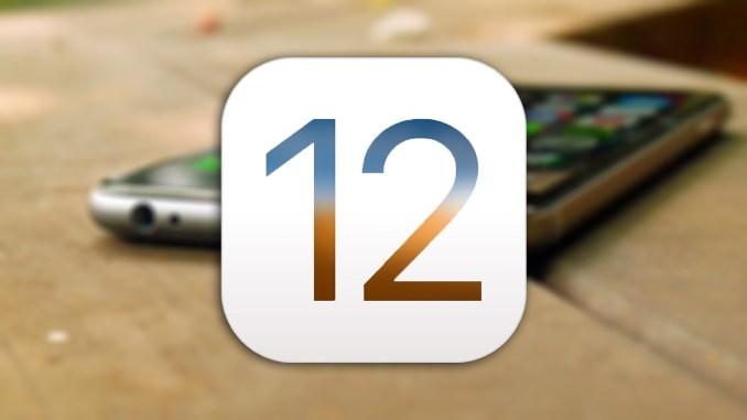 iOS 12 Beta 1 Profile